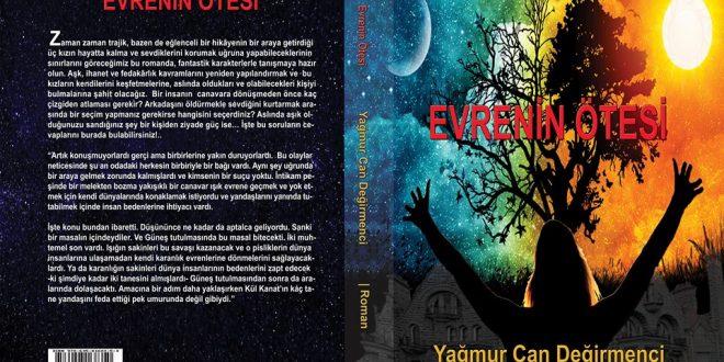 """""""Evrenin Ötesi """"Romanı Halk Edebiyatı Dergisi Yayınevi'nden Çıktı!"""
