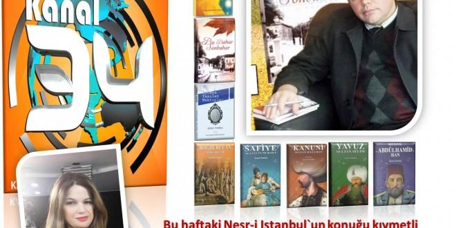 Nesr-i İstanbul'un Konuğu Hikayeci-Yazar Şenol Tombaş'tı